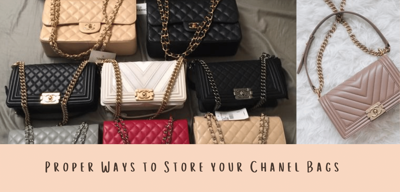 Proper Ways To Store Your Chanel Bags Hanika Store Singapore MAIN